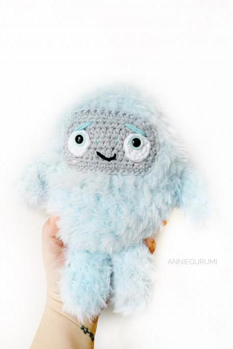 Crochet Pattern: Everest Jr Yeti AMIGURUMI (Digital PDF File)